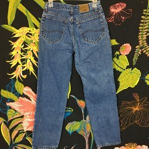 VINTAGE / Lee high waist boot cut jeans